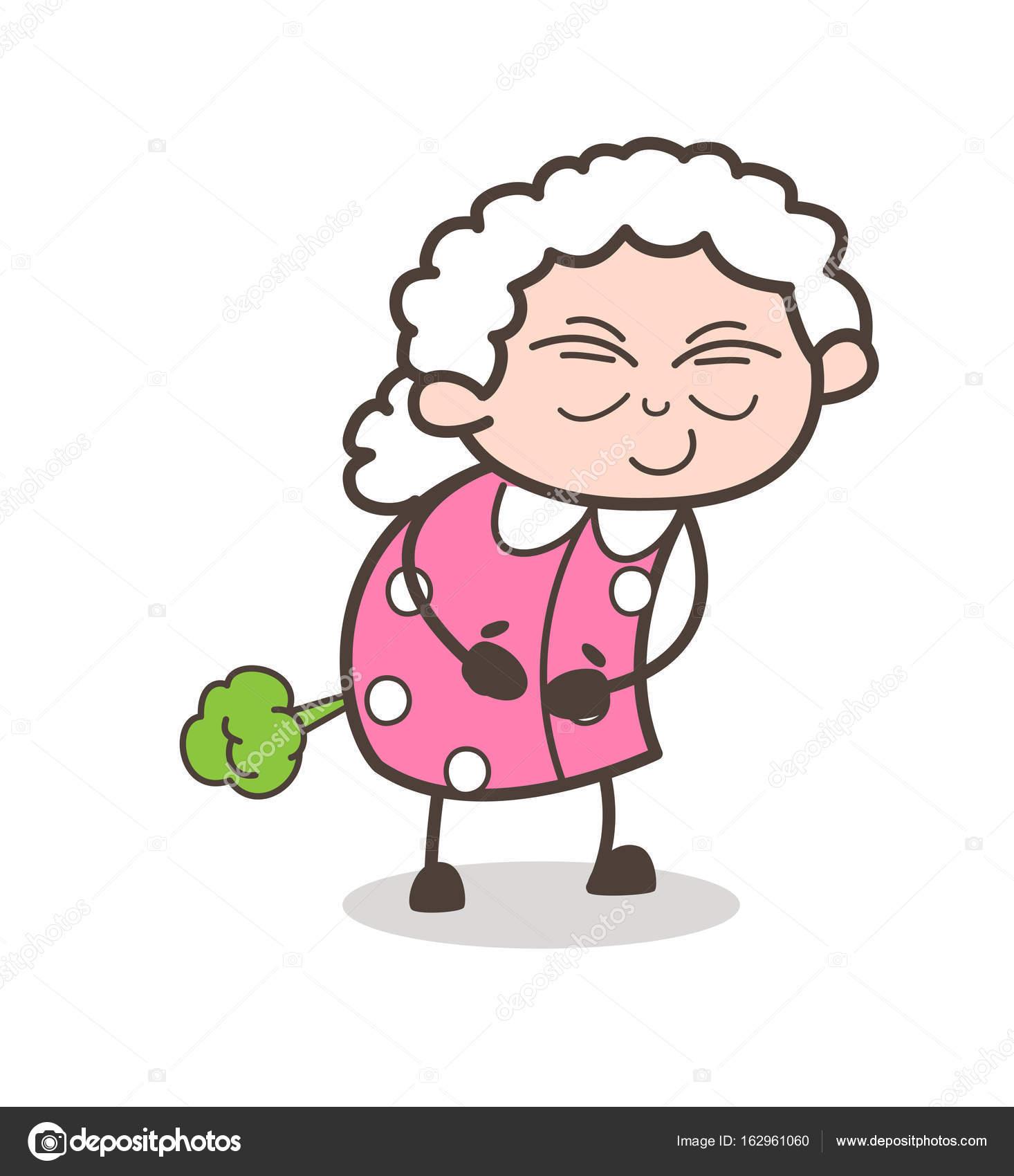 image drole vieille femme