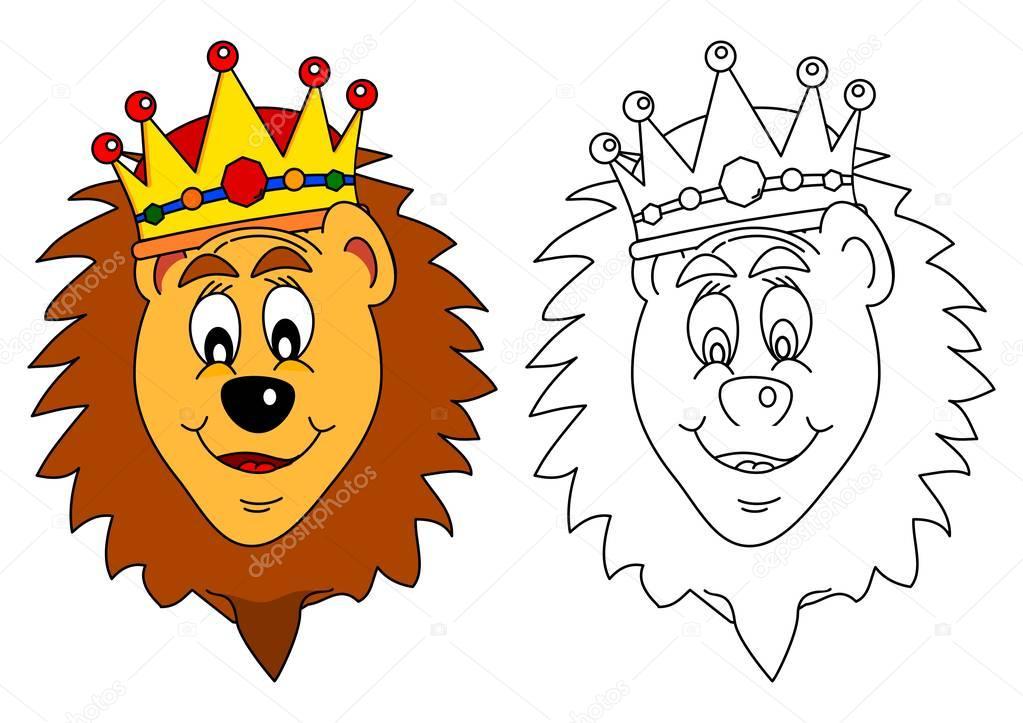 Rey de las bestias - León — Archivo Imágenes Vectoriales © petr73 ...
