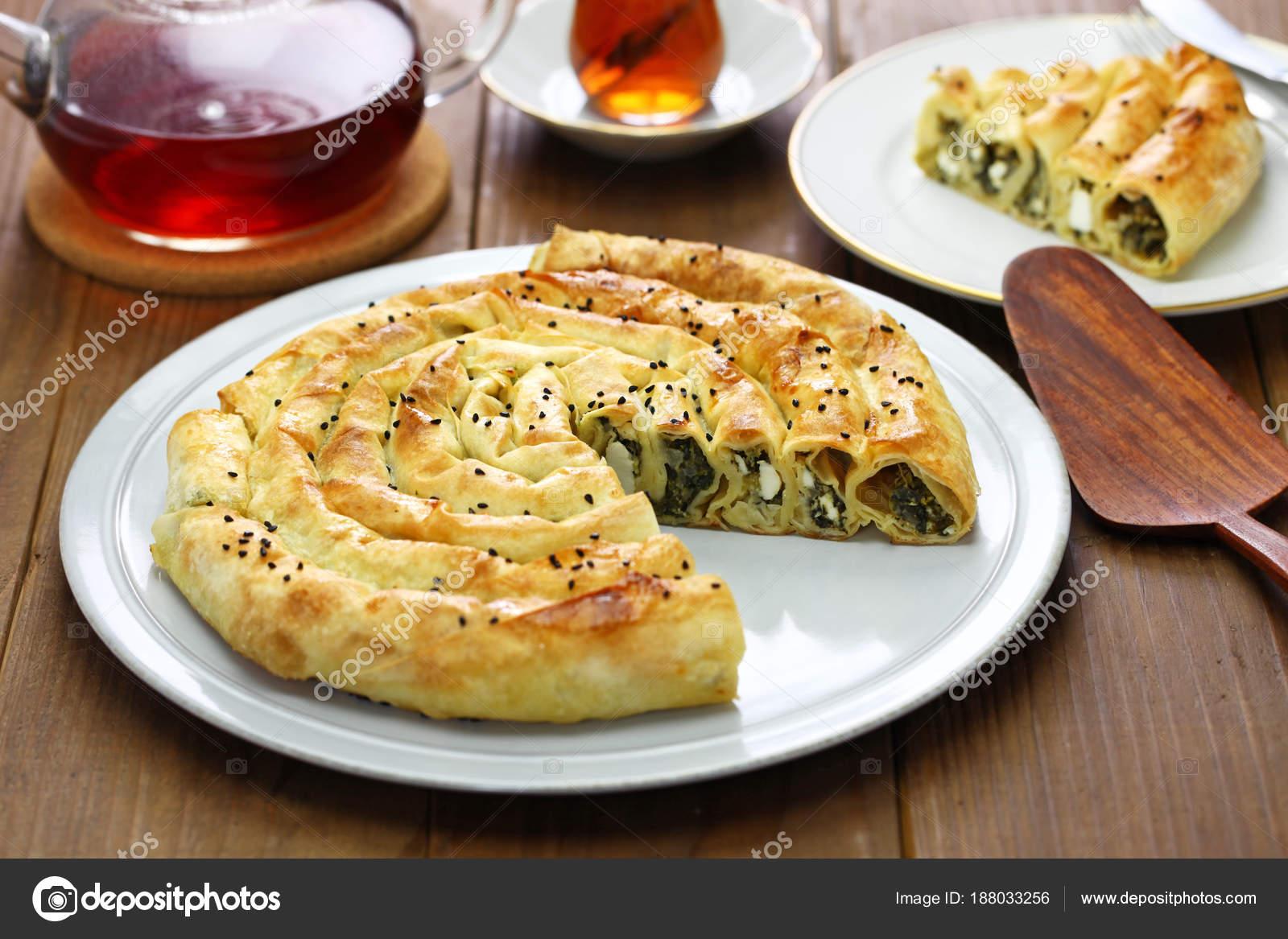 Maison Lamines Borek Epinards Feta Fromage Cuisine Turque