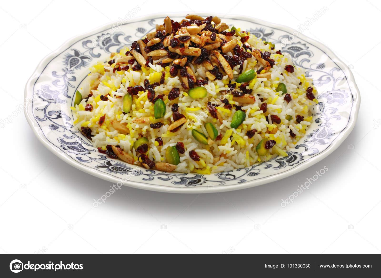 Zereshk polo barberry rice iranian persian cuisine stock photo zereshk polo barberry rice iranian persian cuisine stock photo forumfinder Images
