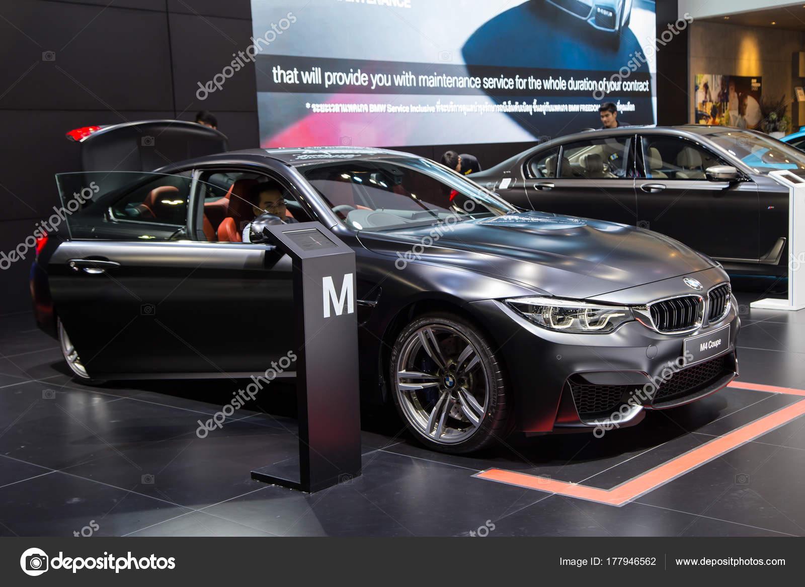 Bmw M4 Mpower Matte Black Stock Editorial Photo C Isampuntarat