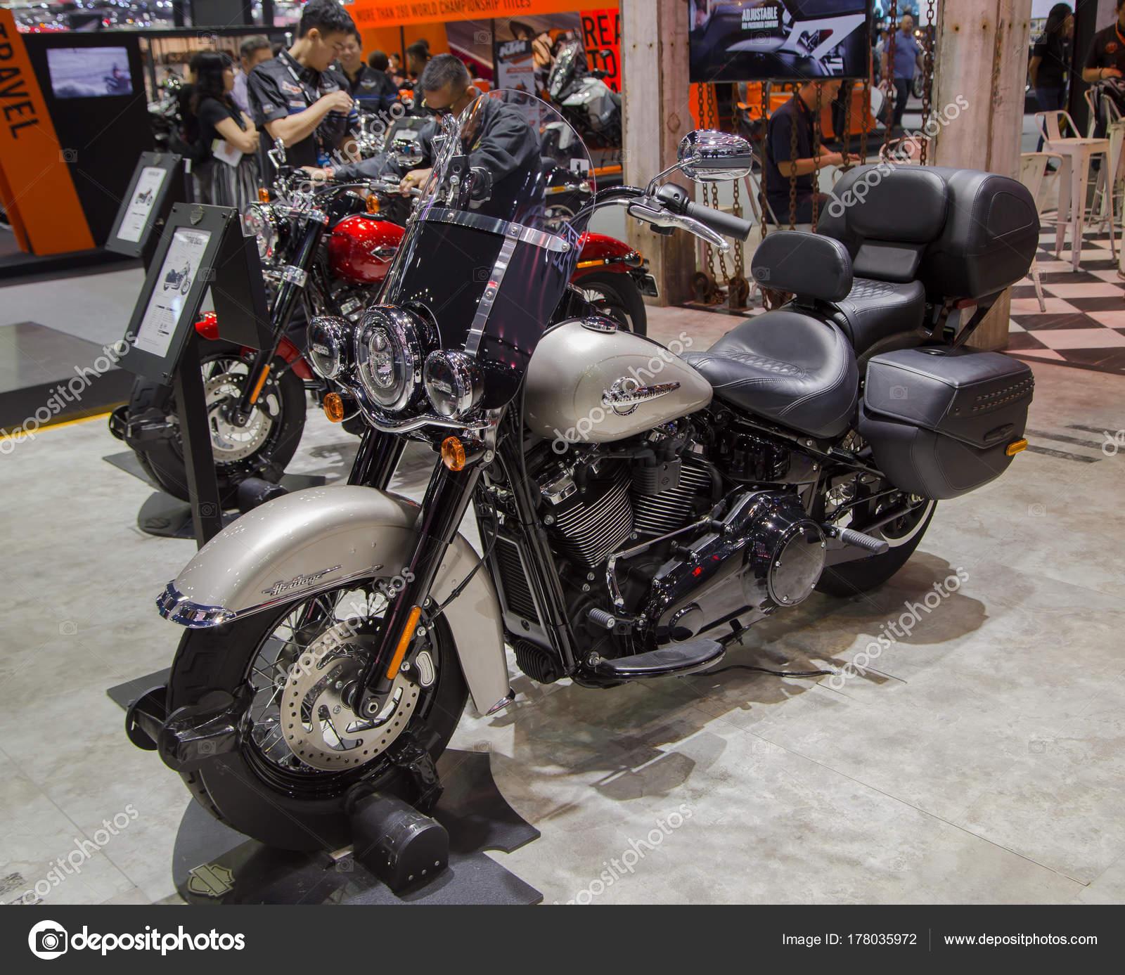 Harley Davidson Heritage Softail Classic 2018 — Fotografia de Stock