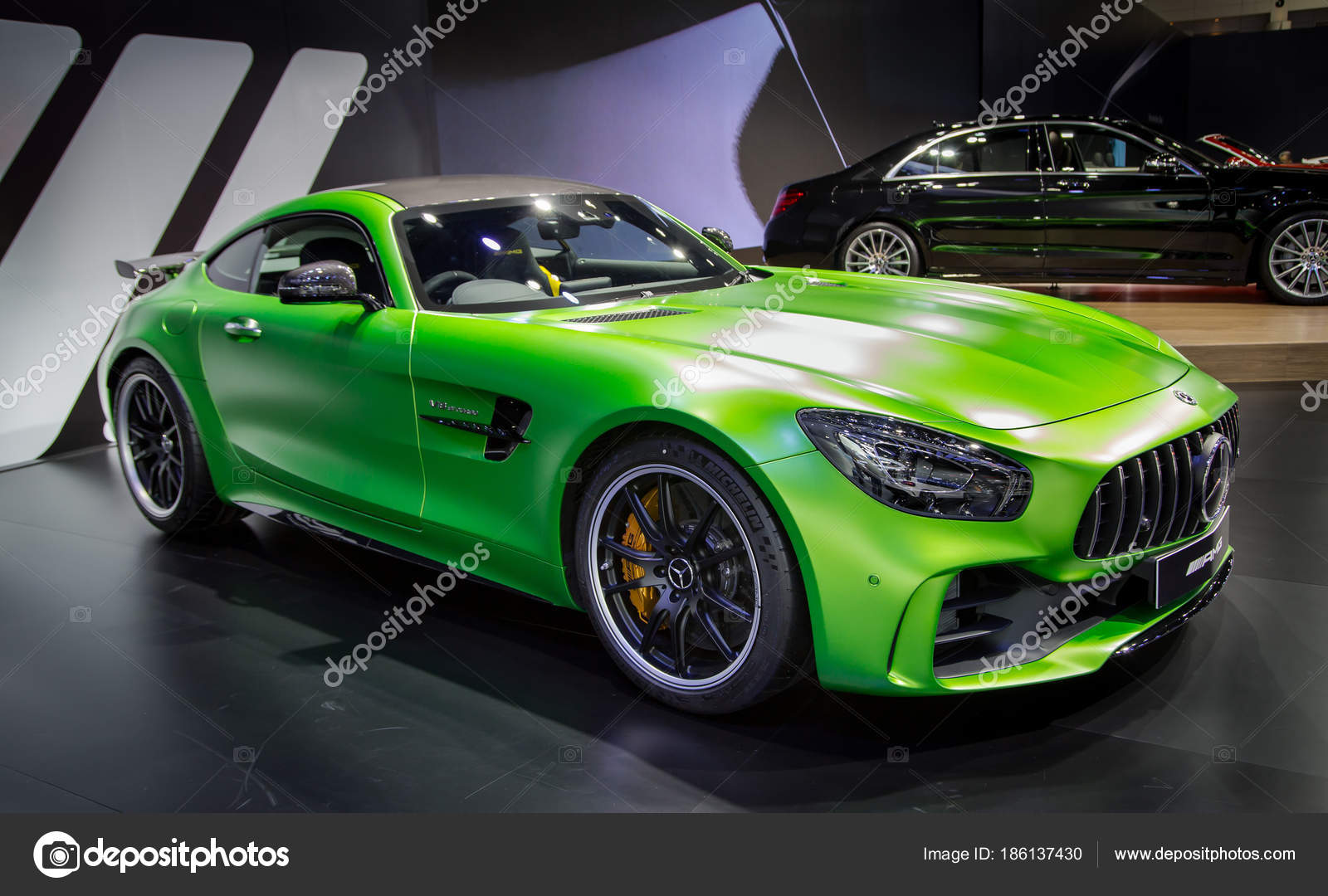 Fonkelnieuw Mercedes Benz AMG Sport Coupe – Stock Editorial Photo YN-62