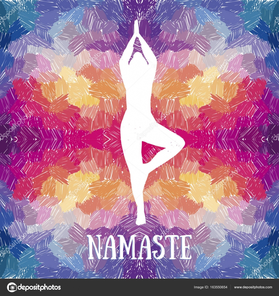 plantilla de bandera artística para retiro de yoga o estudio de yoga ...