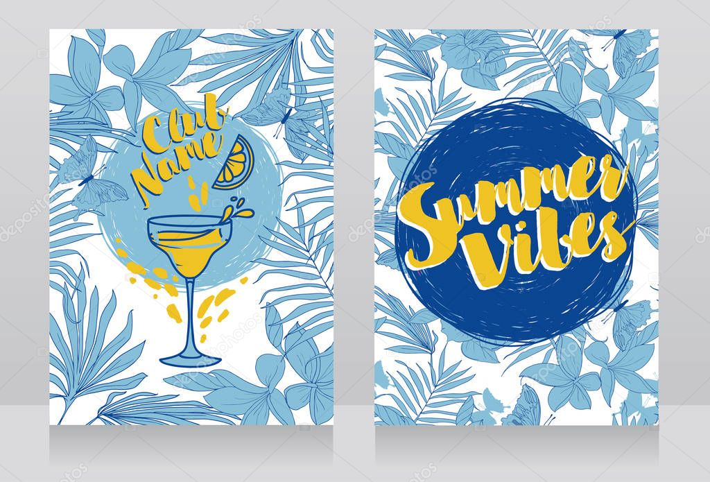 cards for summer cocktail party