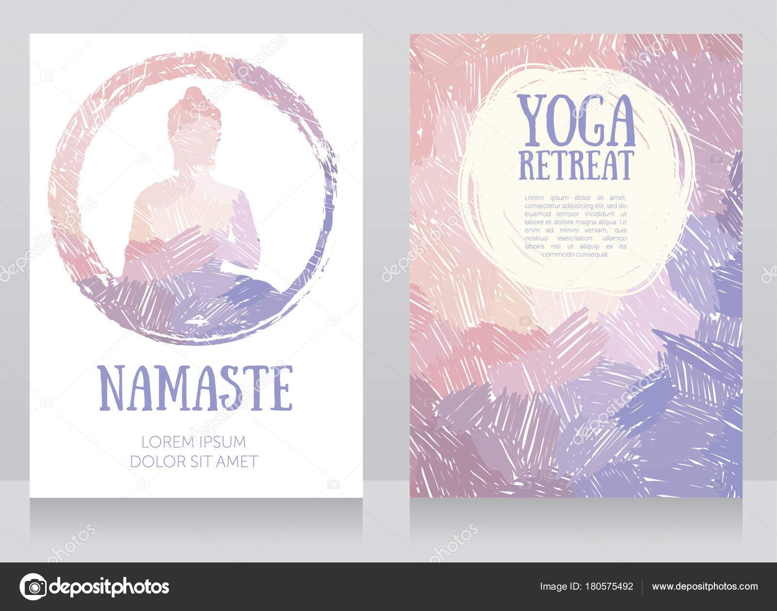 Tarjetas De Cumpleanos Budistas Dos Tarjetas Para Estudio Yoga Con