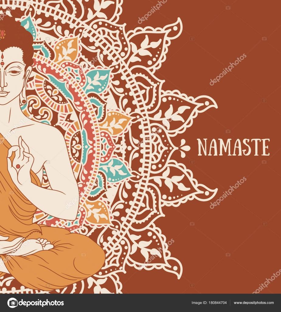 Felicitaciones Cumpleanos Budistas Buda Meditacion Mandala Magico