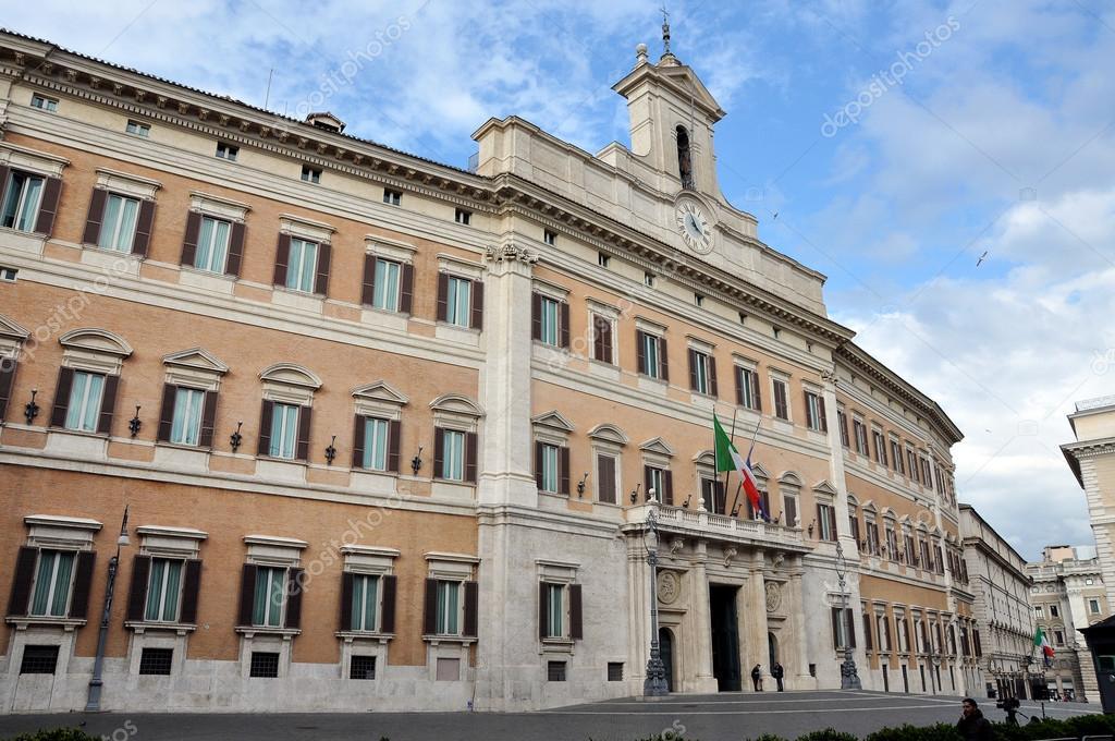 Palazzo palazzo montecitorio a roma sede dell 39 ital foto for Sede camera deputati