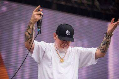 Hip hop rap live concert