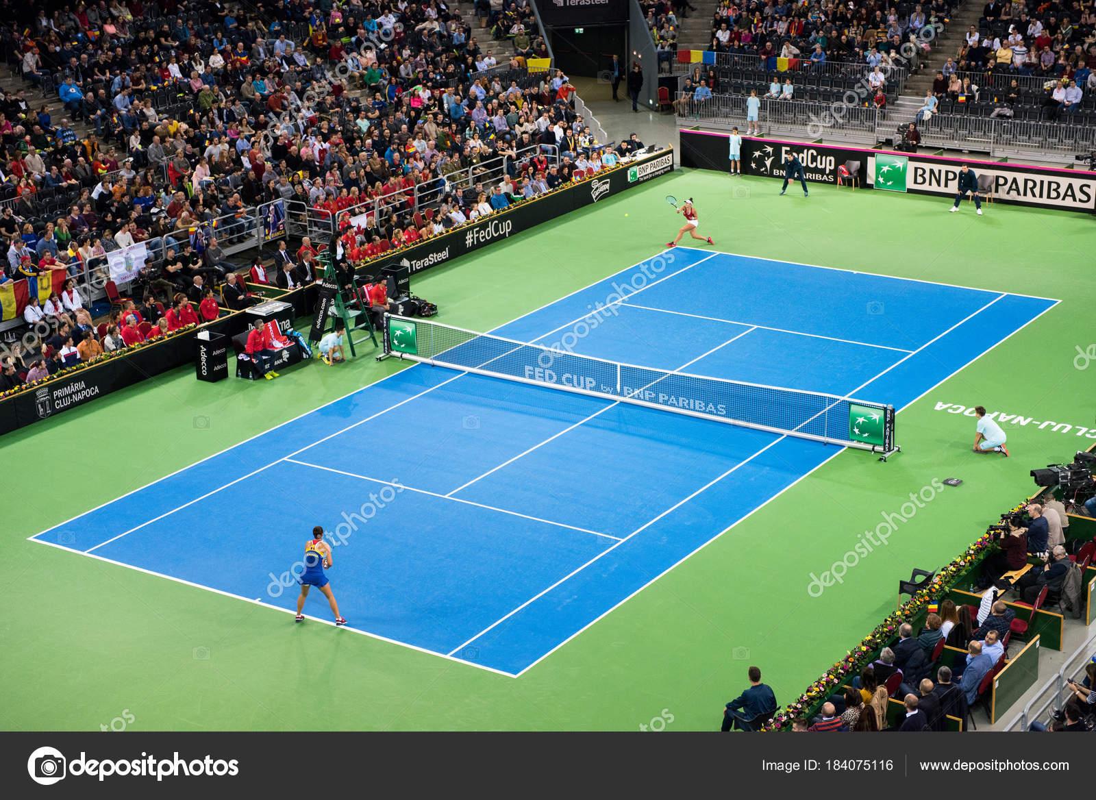 Indoor Tennis Court Stock Editorial Photo C Salajean 184075116