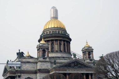Saint Isaac's cathedral.