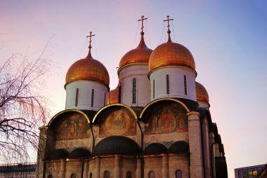 Moscow Kremlin. Dormition church.