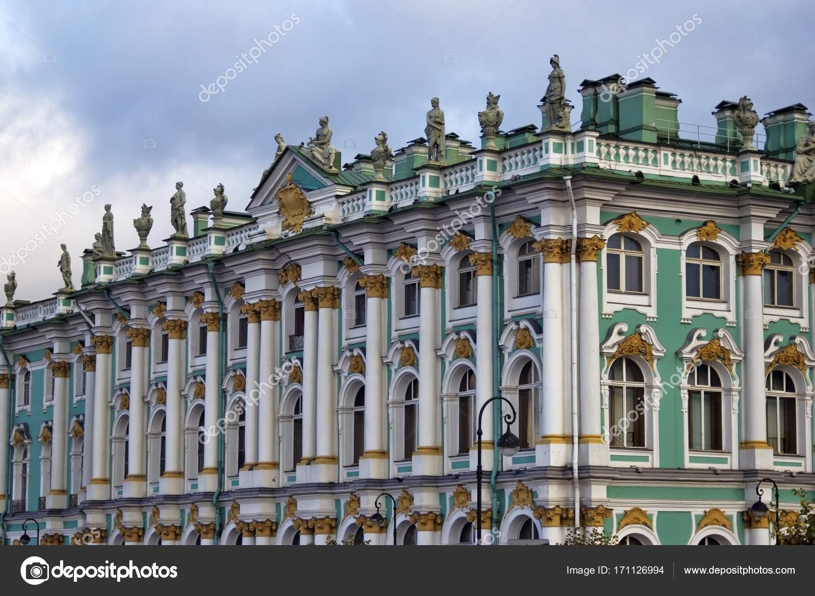 Museo Del Hermitage En San Petersburgo Rusia Fotos De Stock