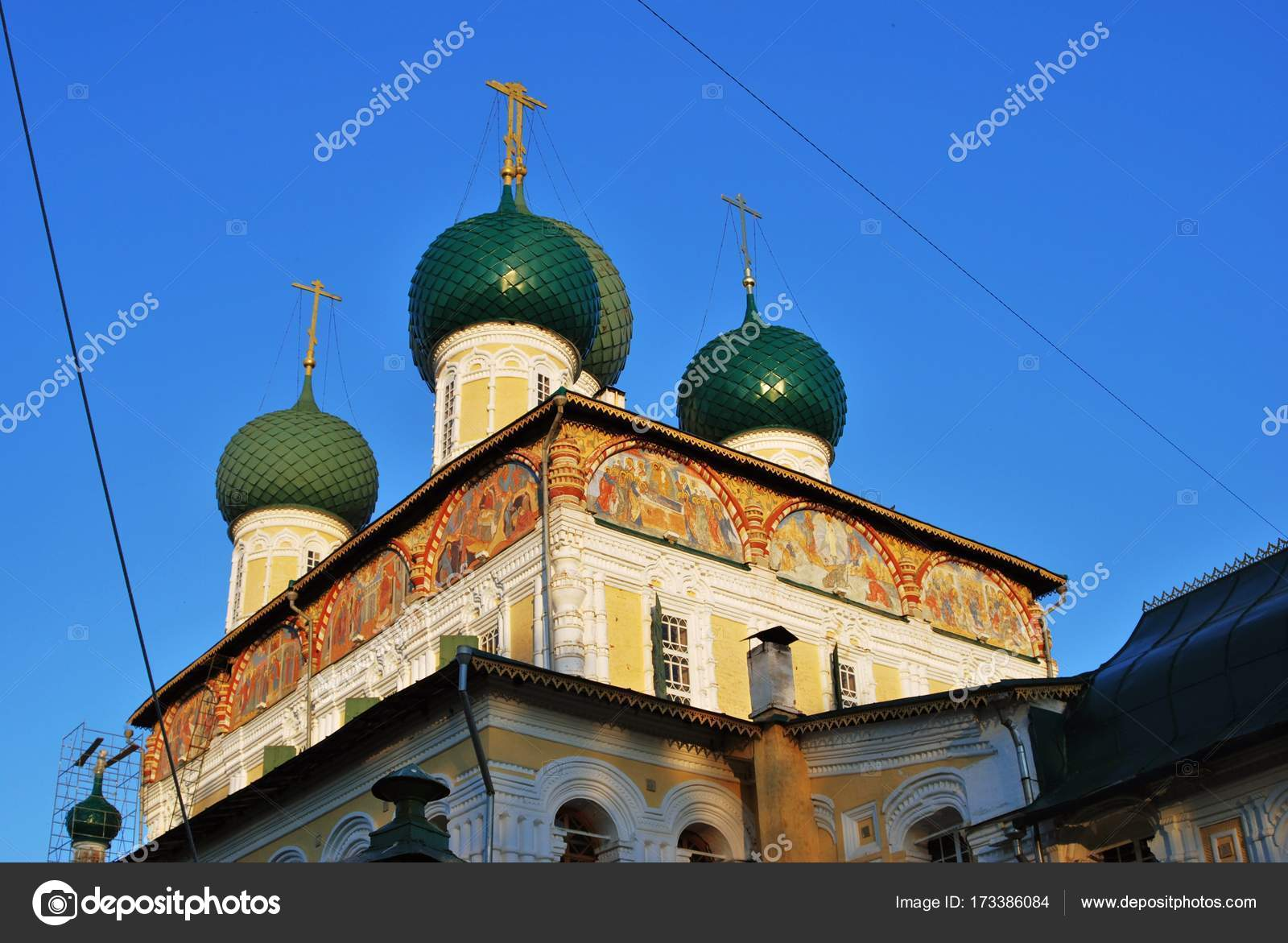 Resurrection Cathedral Tutaev: photos, address and history 74
