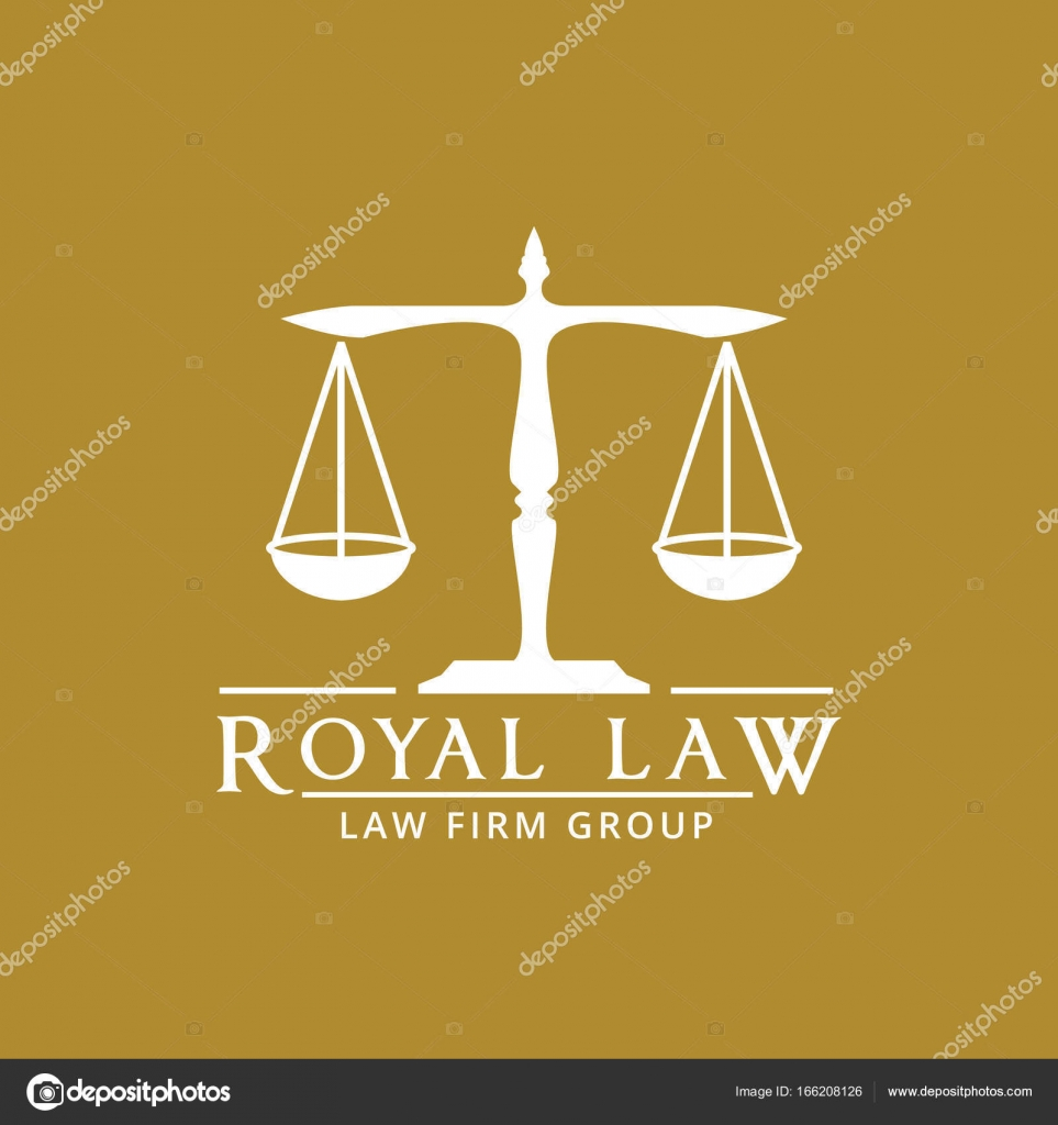 Law firm logo icon vector design  legal, lawyer, scale, vector logo