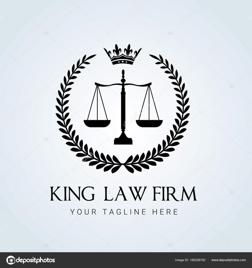 Law firm logo icon vector design  Universal legal, lawyer, scale
