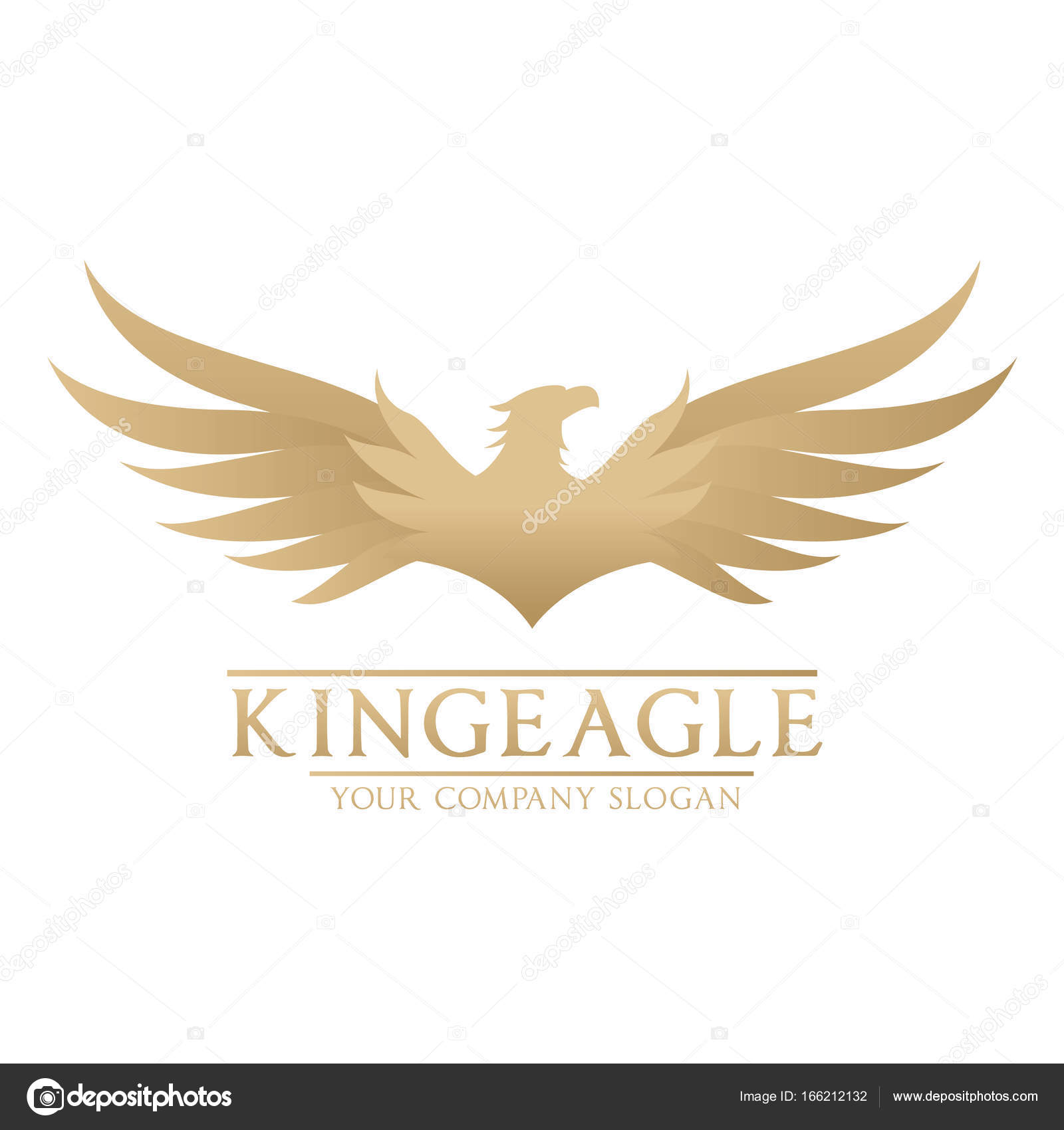 eagle logo bird logo set falcon logo hawk logo vector logo