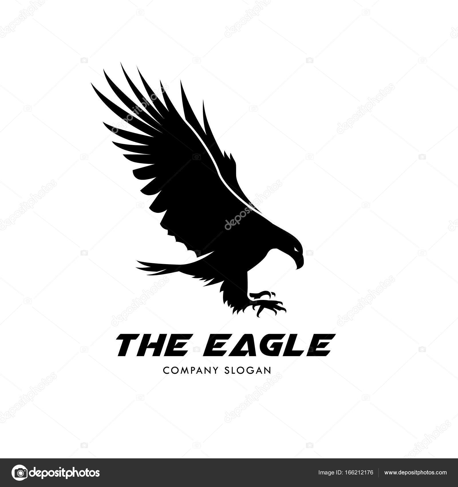 Eagle Logo, Bird logo set, Falcon logo, Hawk logo, Vector logo ...