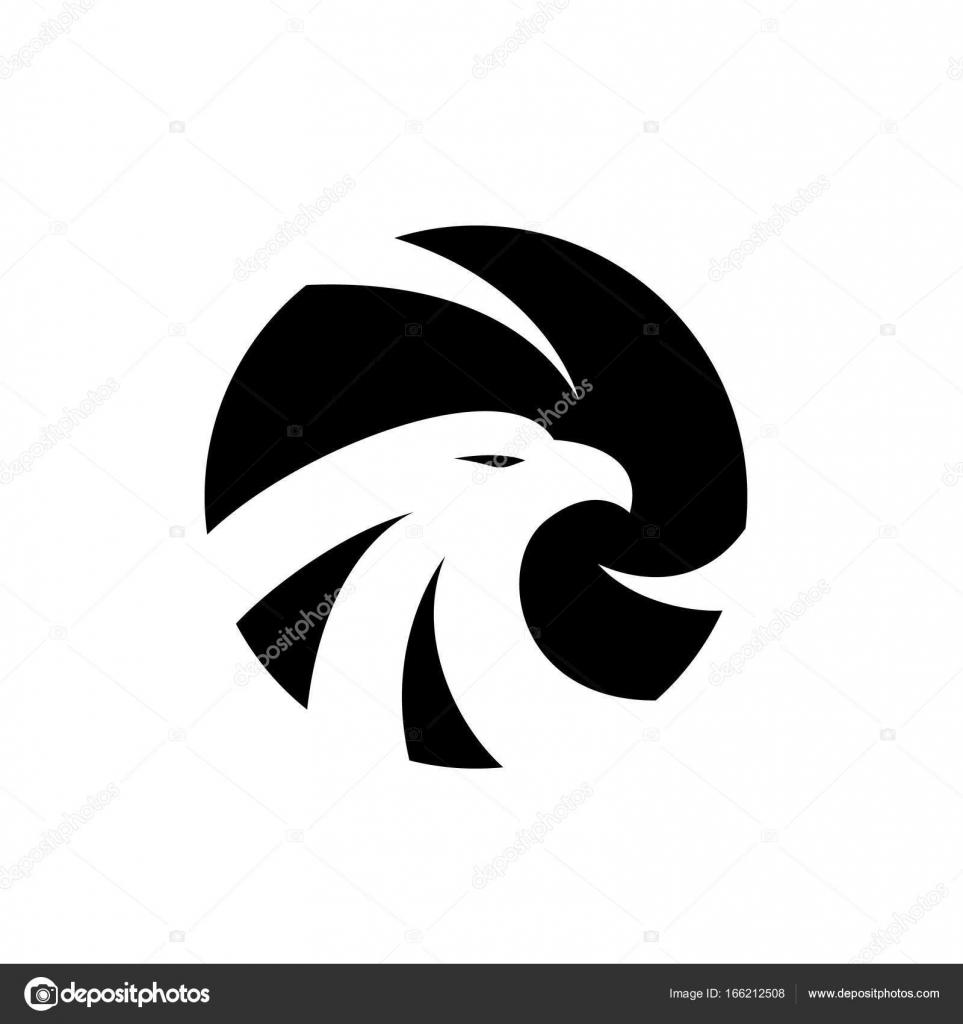 eagle logo bird logo set falcon logo hawk logo vector