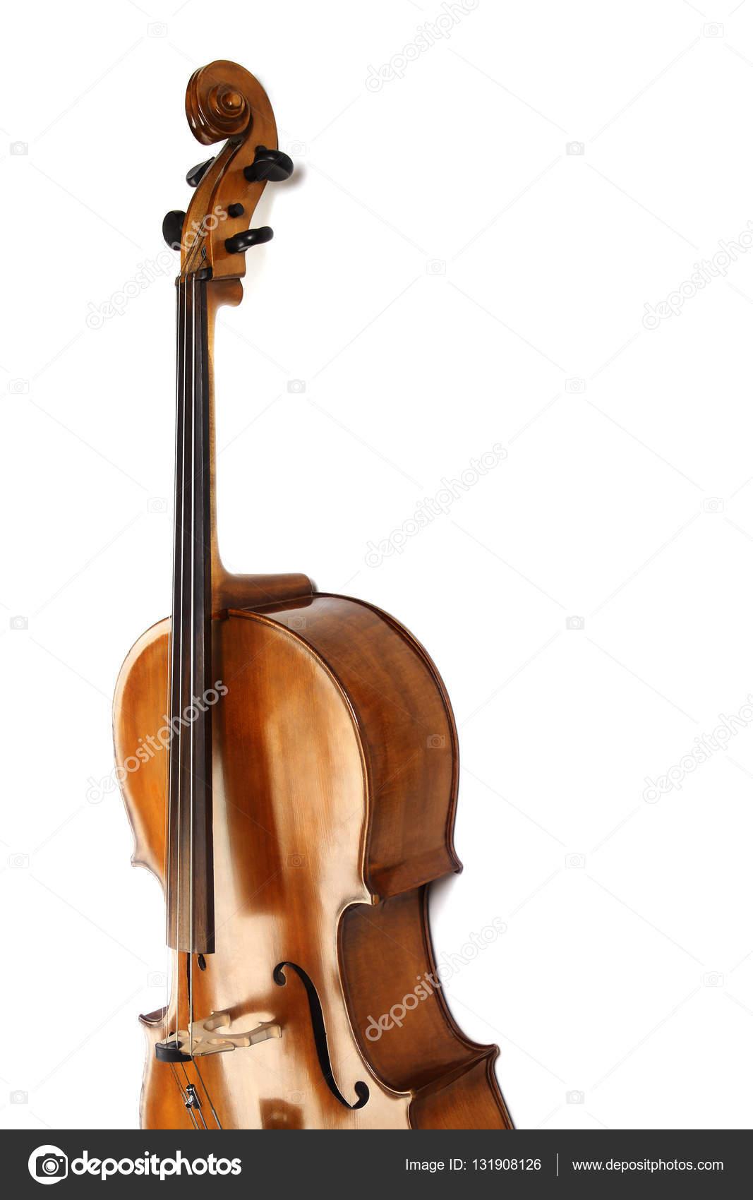 Imagenes Instrumentos Musicales Violonchelo Aislado De