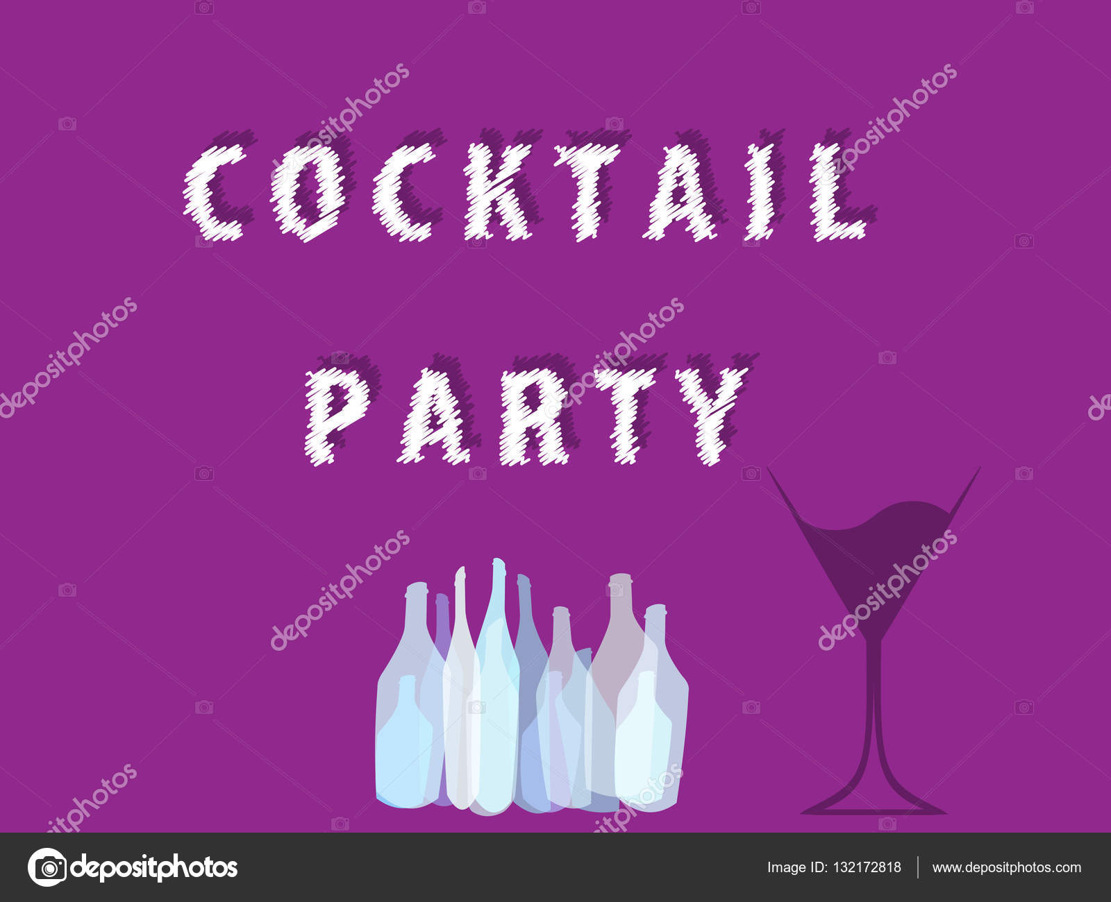 Cocktail Party Vector Ilustration Stock Vector Dodes