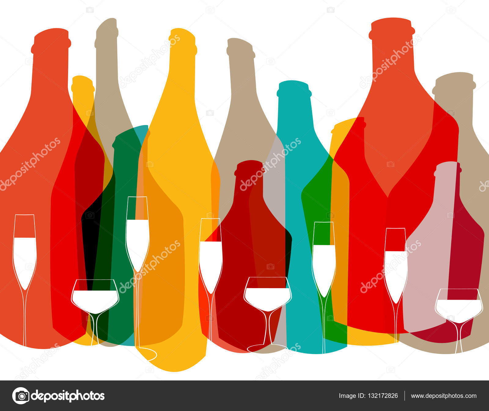 Cocktail Party Vector Stock Vector Dodes 132172826