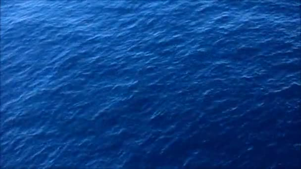 Calm sea water, top view
