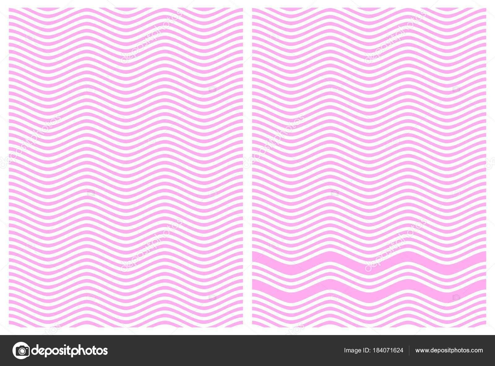 Genial Gardinen Alternative Dekoration Von Zick Zack Linien Von Rosa Und Weiß