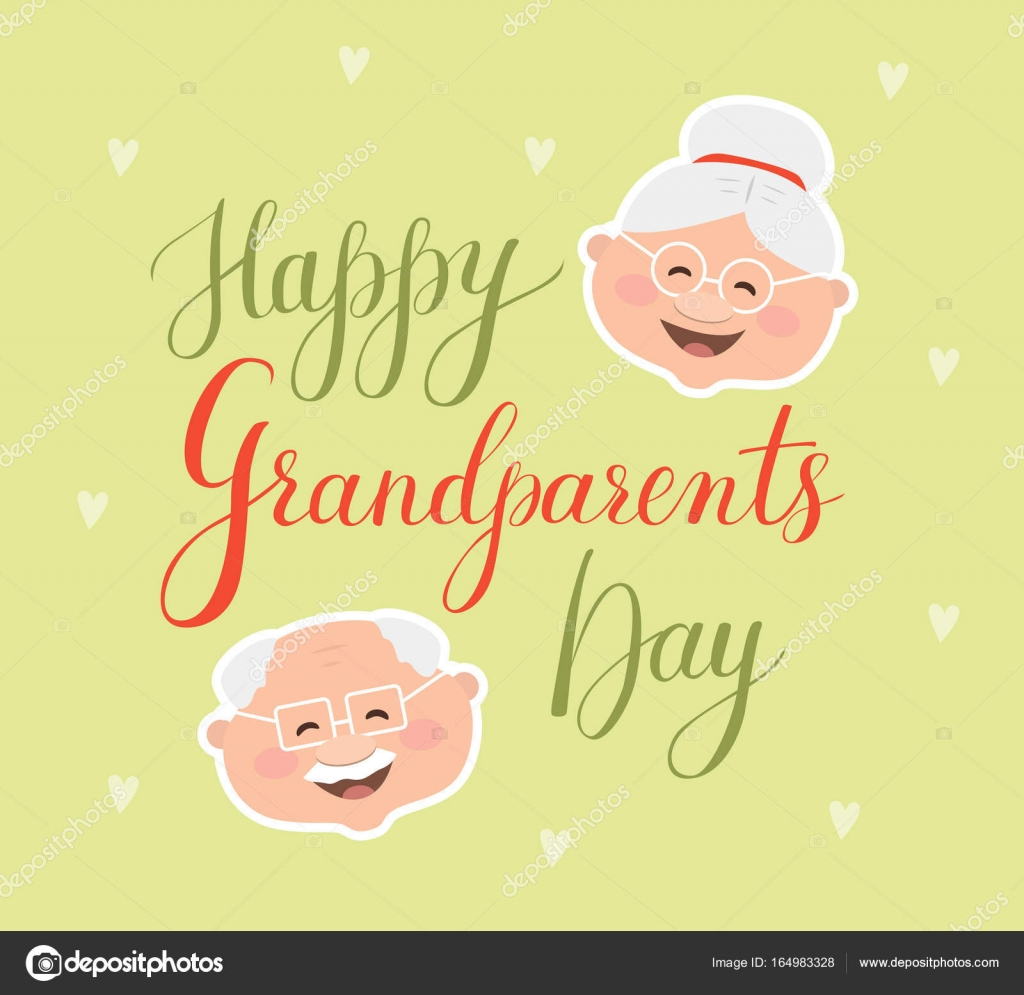 Vector greeting card happy grandparent day stock vector vector greeting card happy grandparent day stock vector m4hsunfo