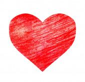 Rajzoló szív fehér