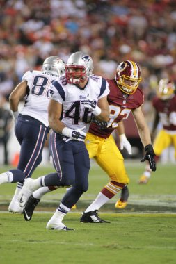 James Devlin RB of the New England Patriots