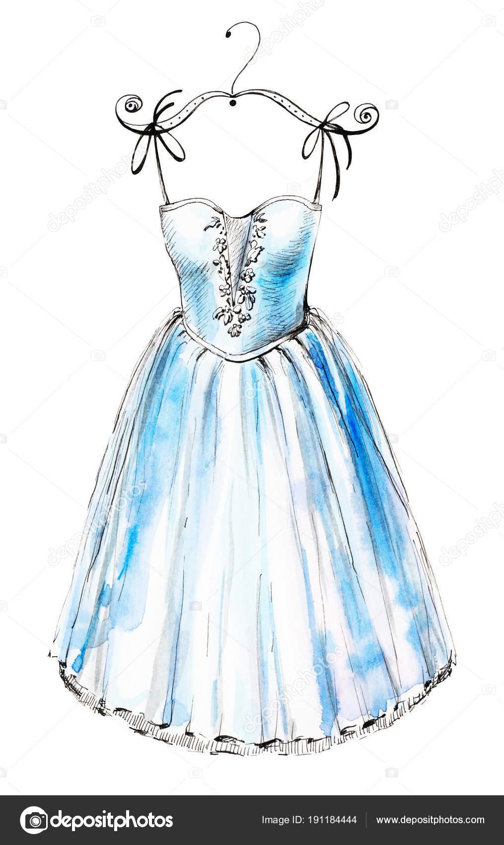 Vestidos De Ballet Azules Vestido Del Ballet Azul Foto