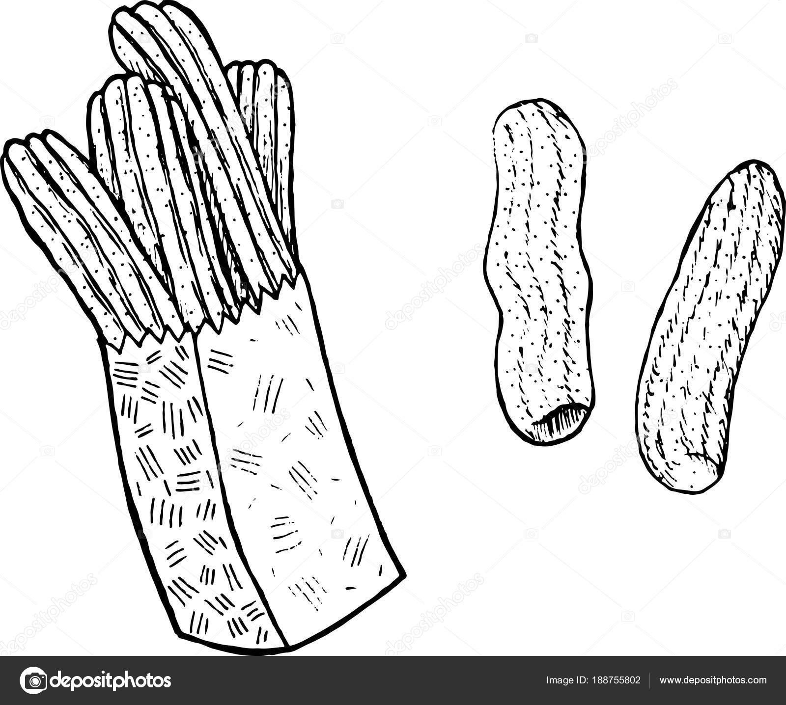 Doodle Boyama Sayfası Tatlıları Ile Yetişkinler Için Mürekkep Sanat