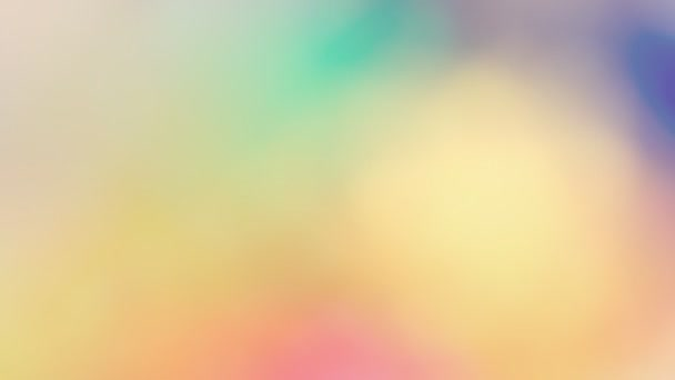 Colorful  blur background loop. Colors  lights cross fade into each other. Good for video title or text background, footage transitions.
