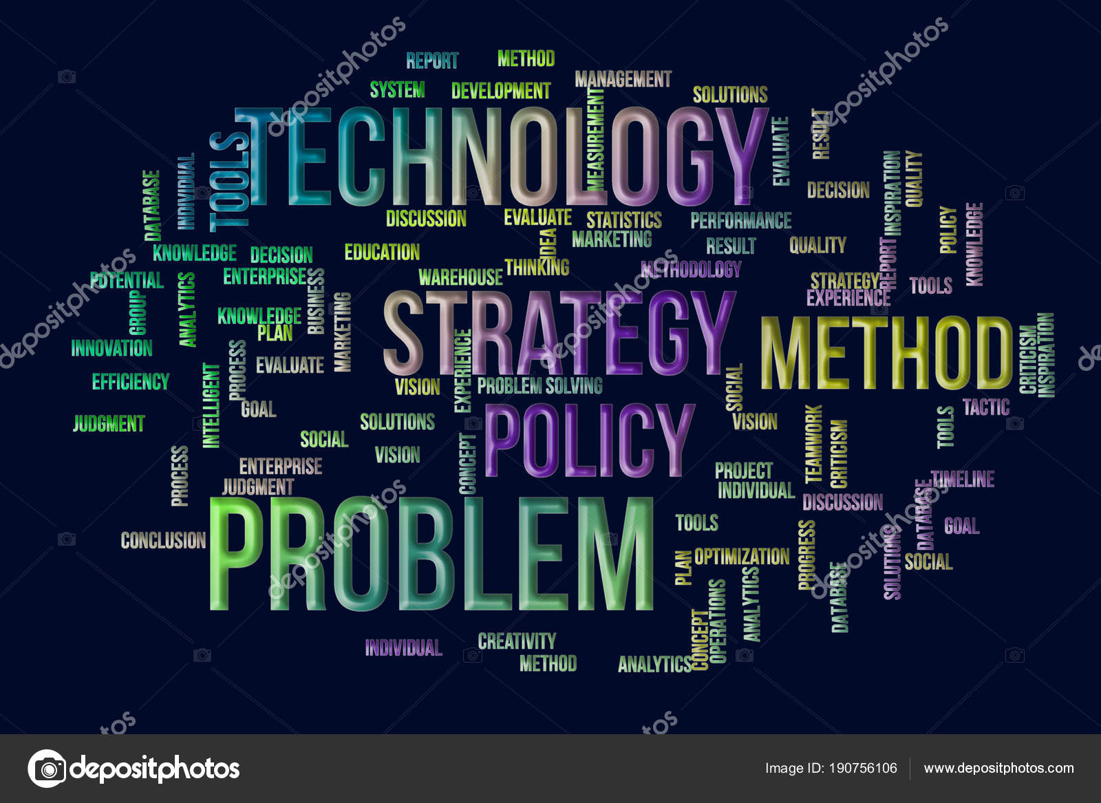 Business Words Cloud Wallpaper Or Texture Background Concept