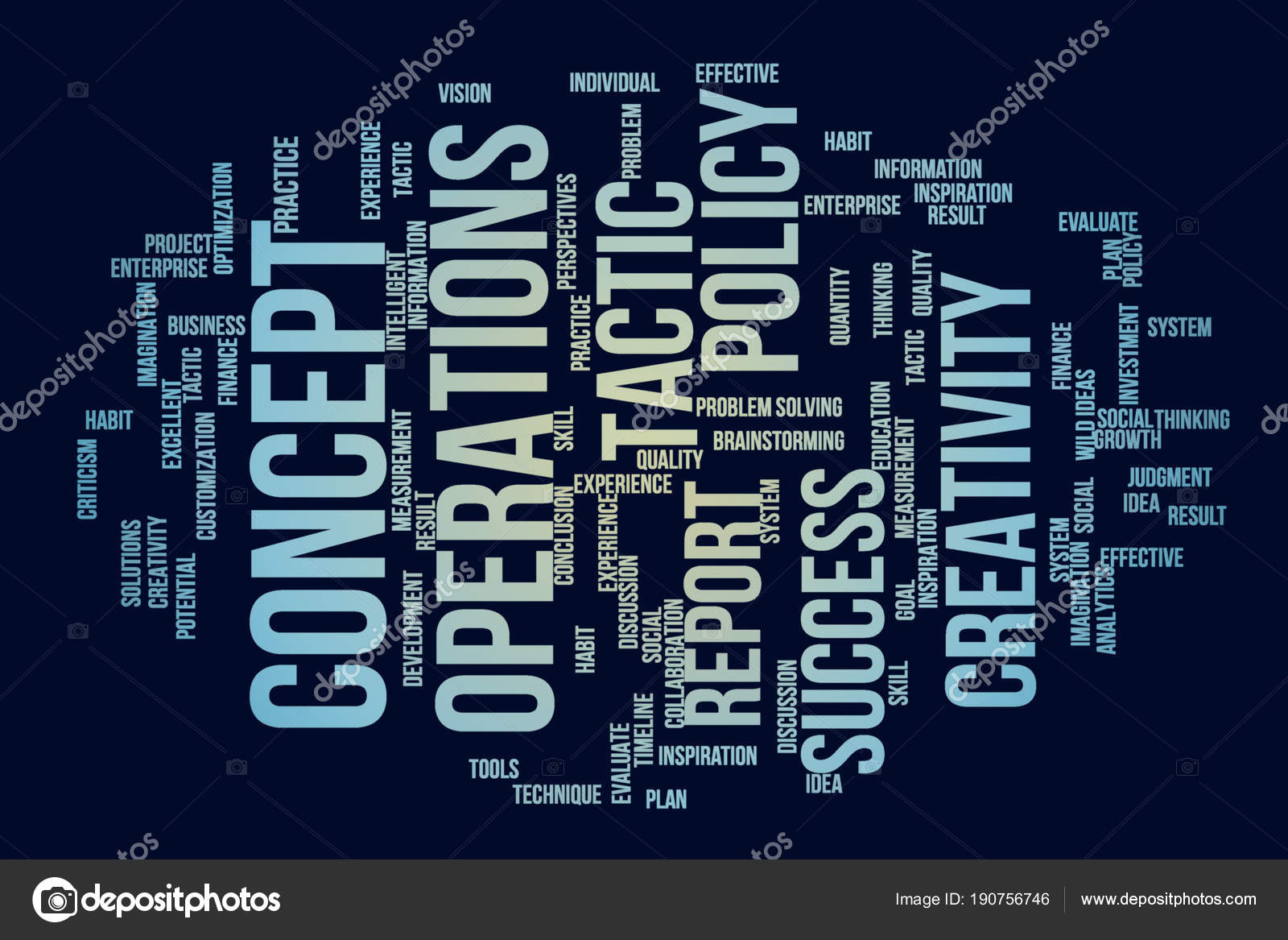 Business Words Cloud Artistic Abstract Background Alphabet Wor