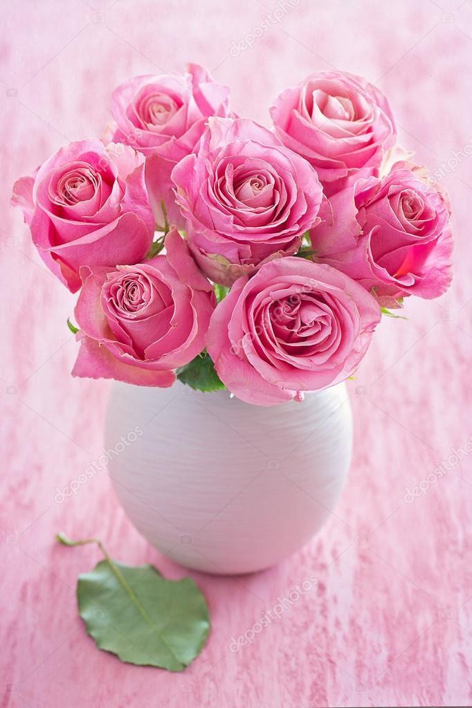 Flores de rosas frescas hermosas Foto de stock ulchik74 125575686