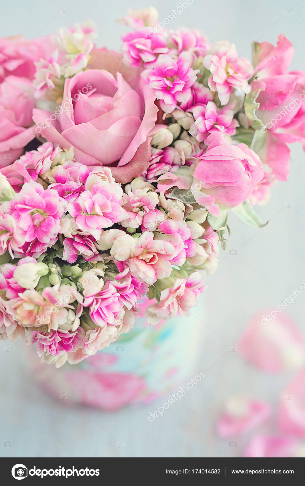 Beautiful Fresh Roses Flowers In A Box Stock Photo Ulchik74