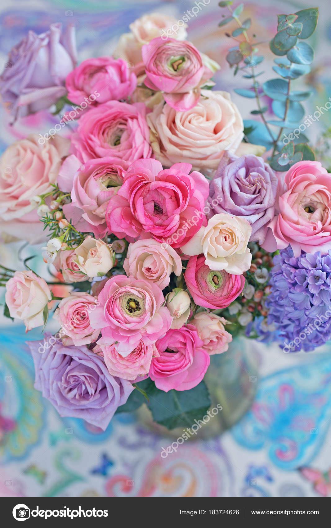 Fleurs printemps bouquet for Beau bouquet de fleurs