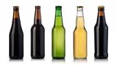 Fotografia bottiglie di birra