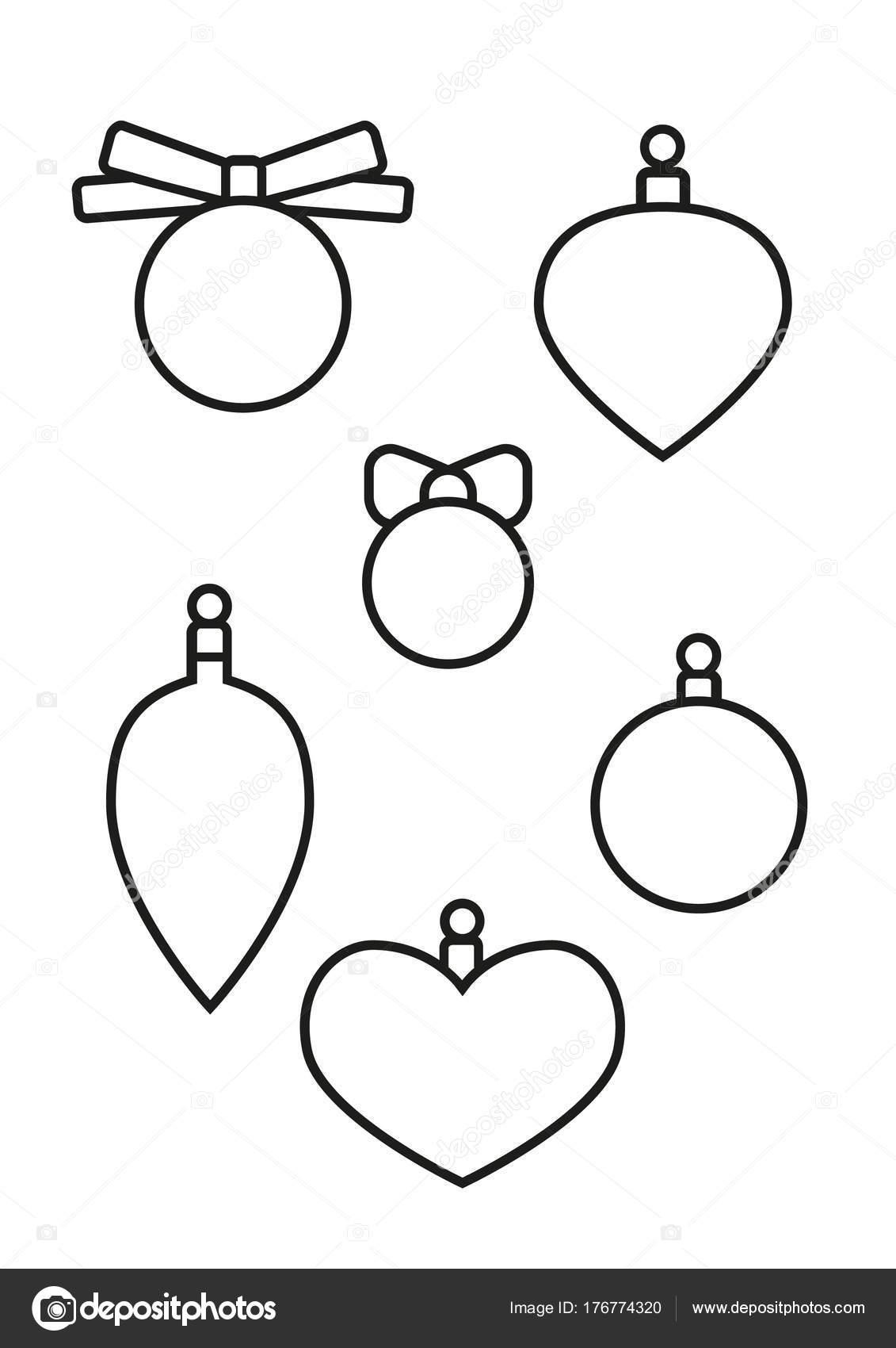 Elementi Di Natale Libro Da Colorare Per Bambini