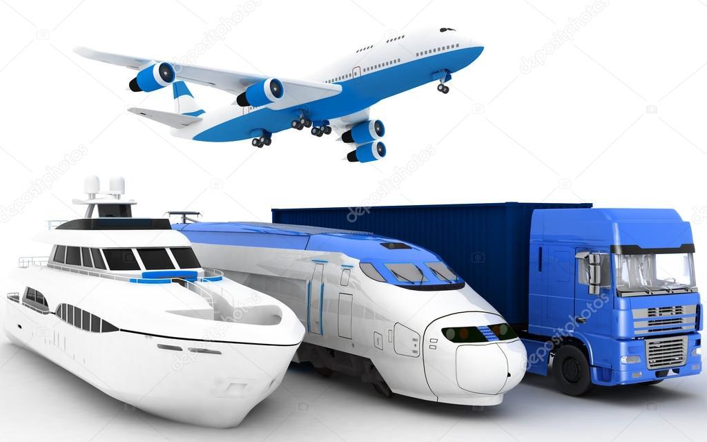 3d Transport illustration