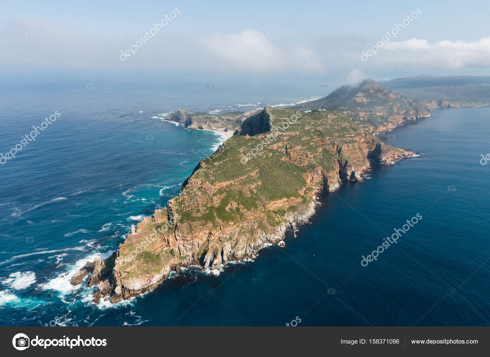 Pointe du Cap et le Cap de bonne-espérance — Photographie ...
