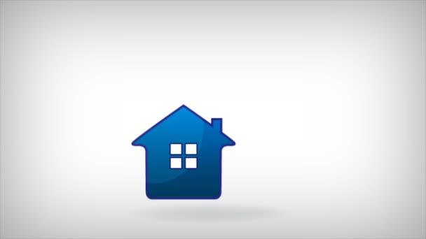 Haus und Konstruktor Handwerker Footage video