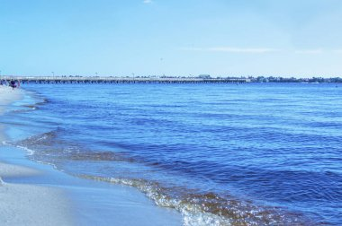 Sunset summer beach tropical paradise cape coral florida image picture background