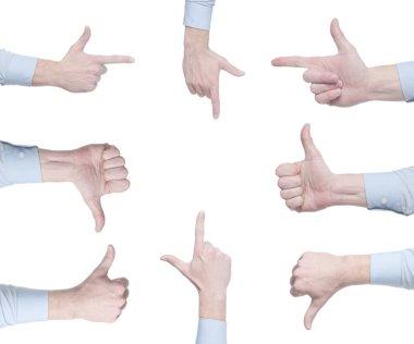 thumbs up, down, like, do not like