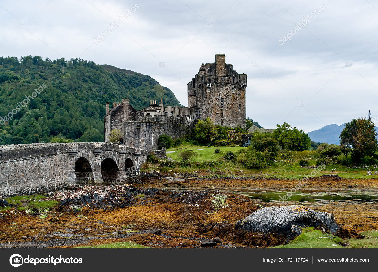 Eilean Donan Castle Loch Duid Highlands Schottland
