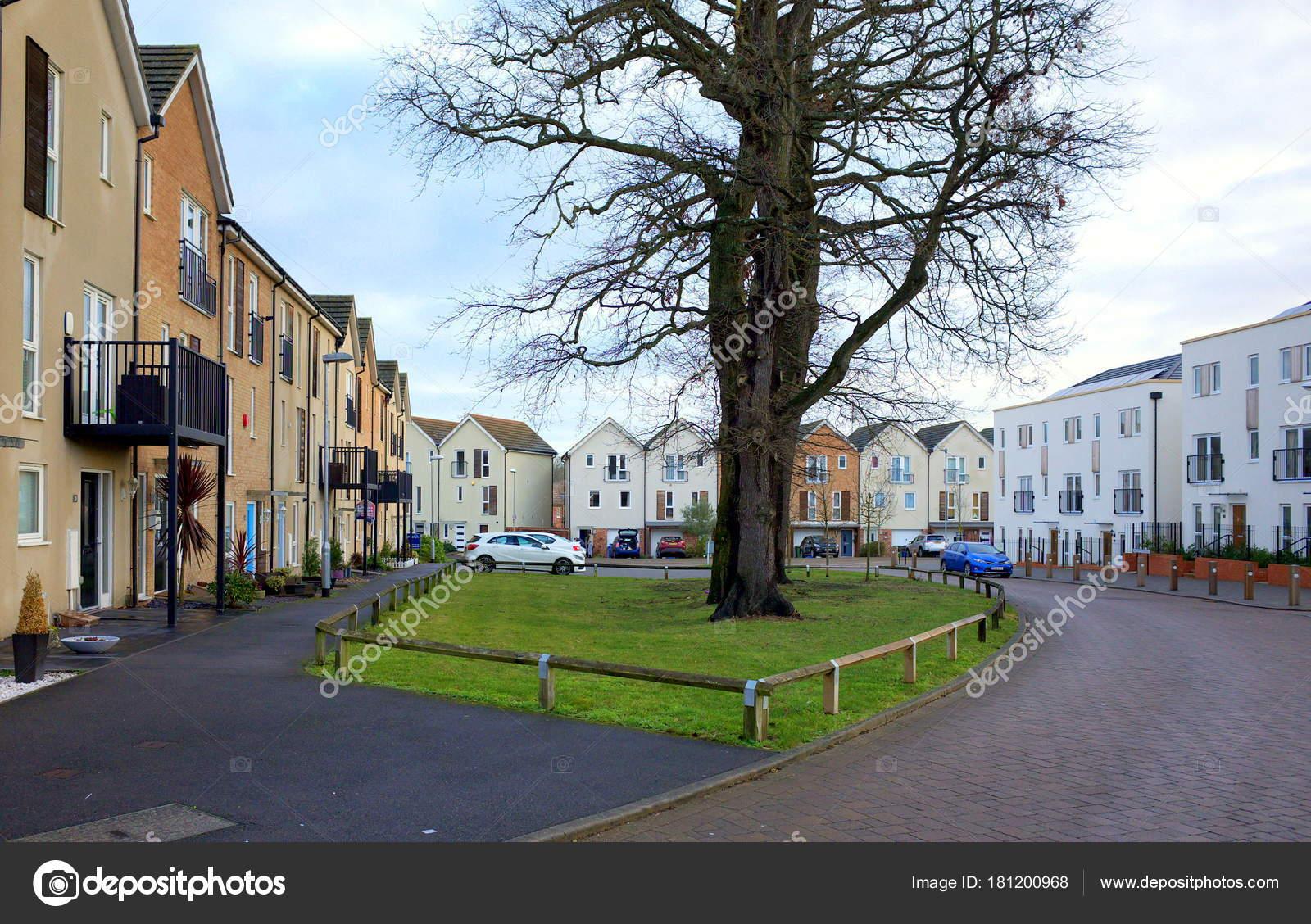 Bracknell England Januar 2018 Weitwinkelaufnahme Des Modernen ...