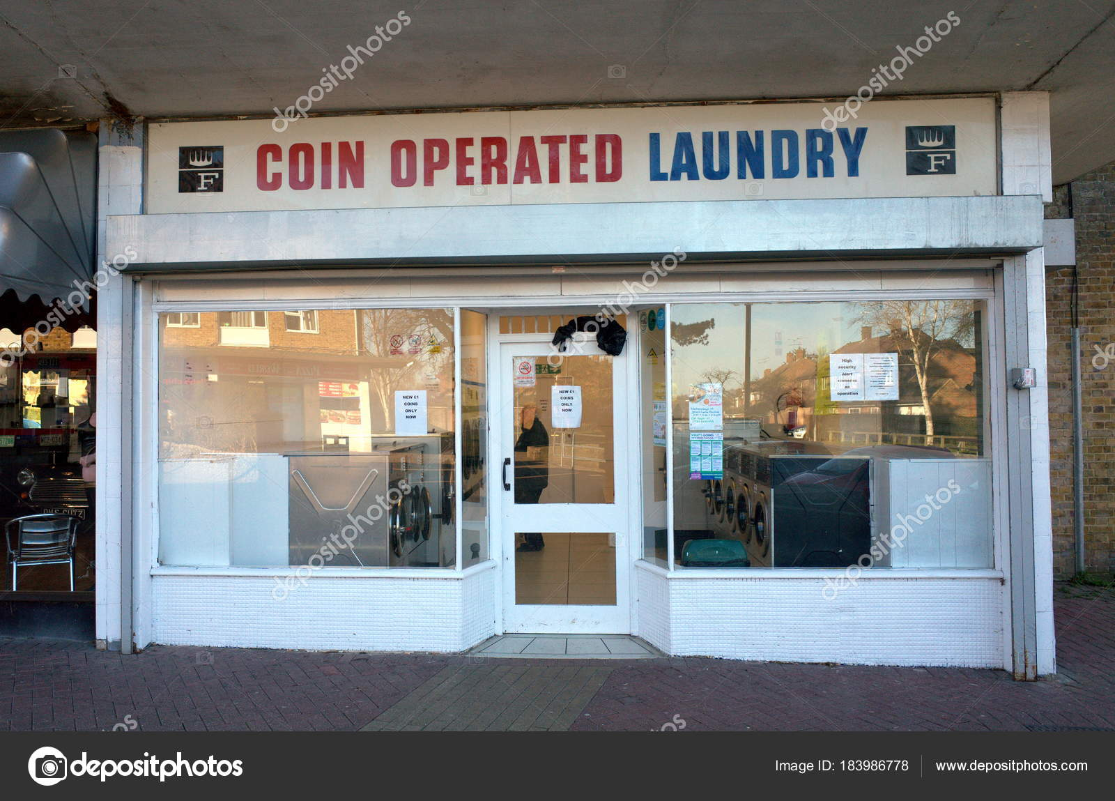 Bracknell England February 2018 Exterior Coin Operated