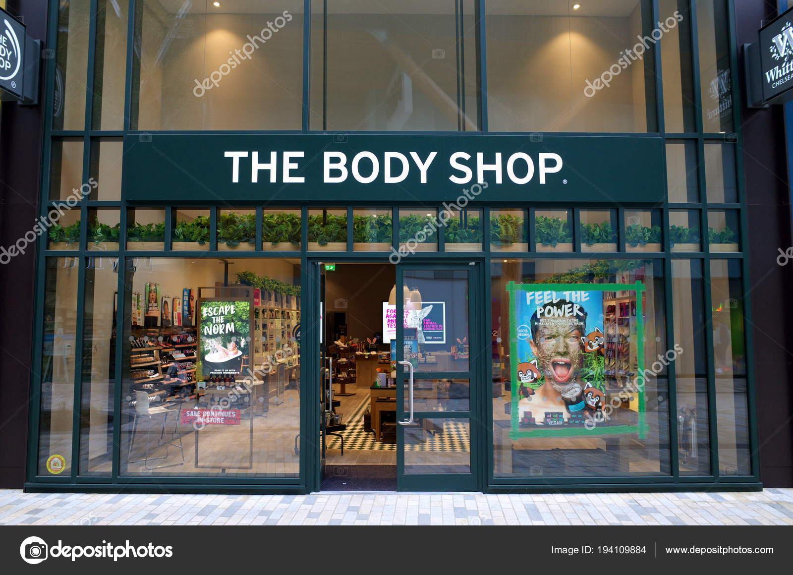 ec5dd7aae Bracknell Inglaterra Abril 2018 Loja Body Shop Bracknell Inglaterra ...